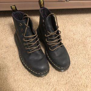 Dr. Martens Black Luana Boots